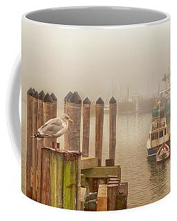 Portland Harbor Morning Coffee Mug