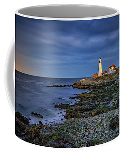 Portland Head Aglow Coffee Mug by Rick Berk