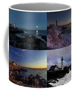 Portland Head Light Day Or Night Coffee Mug