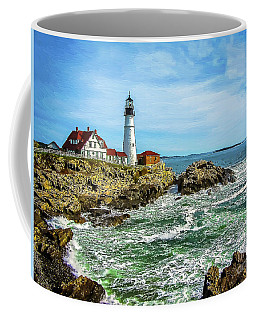Portland Head Light - Oldest Lighthouse In Maine Coffee Mug
