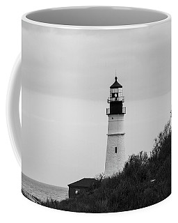 Coffee Mug featuring the photograph Portland Head Light by Trace Kittrell