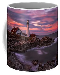 Portland Head Sunset Coffee Mug