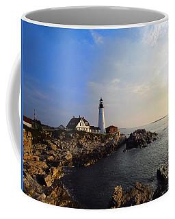 Portland Headlight Morning Glow Coffee Mug