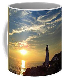 Portland Headlight Sunbeam Coffee Mug
