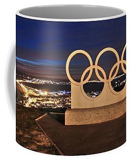 Portland Olympic Rings Coffee Mug