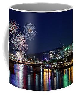 Portland Rose Festival 2017 Fireworks Coffee Mug