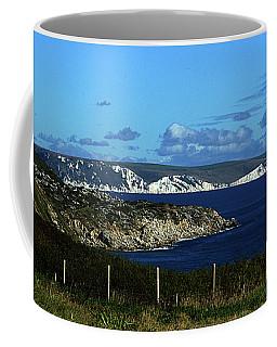 Portland To Weymouth  Coffee Mug by Stephen Melia