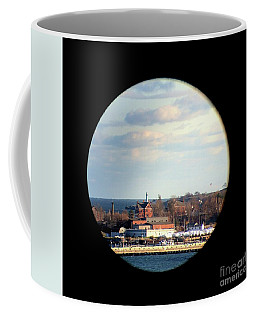 Portland View Through The Victoria Mansion Tower Window Coffee Mug