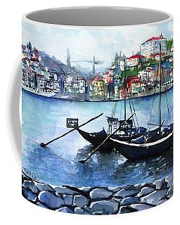 Porto Rabelo Boats Coffee Mug