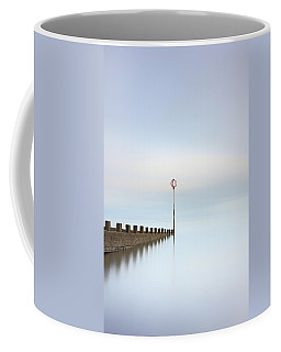 Coffee Mug featuring the photograph Portobello Long Exposure by Grant Glendinning