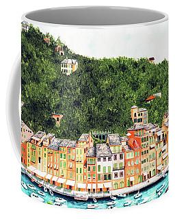 Portofino, Italy Prints From Myoriginal Oil Painting Coffee Mug
