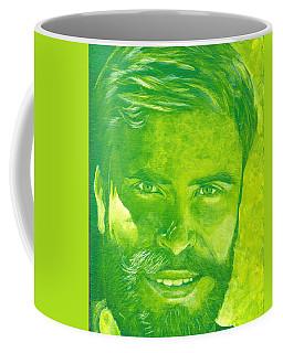 Portrait In Green Coffee Mug