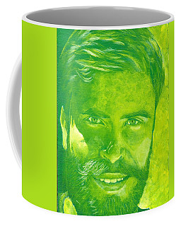 Portrait In Green Coffee Mug