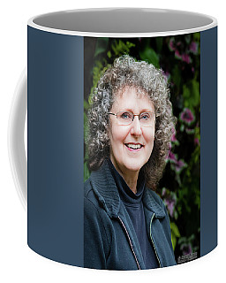 Portrait In The Leaves Coffee Mug