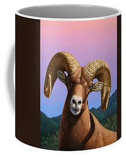 Portrait Of A Bighorn Coffee Mug