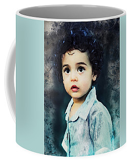 Portrait Of A Child Coffee Mug