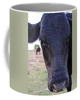Portrait Of A Cow Coffee Mug