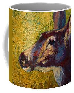 Portrait Of A Doe Coffee Mug