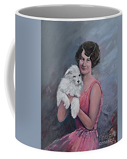 Maggie And Caruso -portrait Of A Flapper Girl Coffee Mug