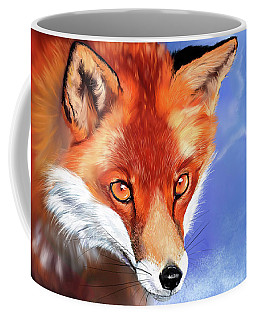 Portrait Of A Fox Coffee Mug