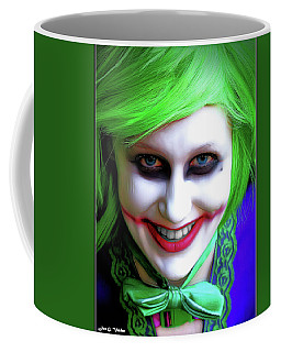 Portrait Of A Joker Coffee Mug