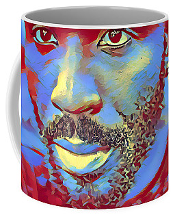 Portrait Of A Man Of Color Coffee Mug