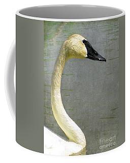 Portrait Of A Pond Swan Coffee Mug