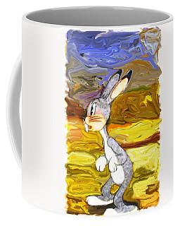 Portrait Of A Rabbit Coffee Mug