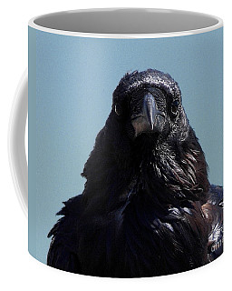 Portrait Of A Raven Coffee Mug