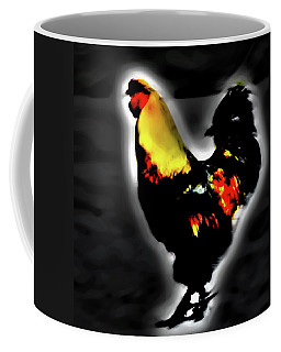 Portrait Of A Rooster Coffee Mug