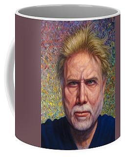 Portrait Of A Serious Artist Coffee Mug