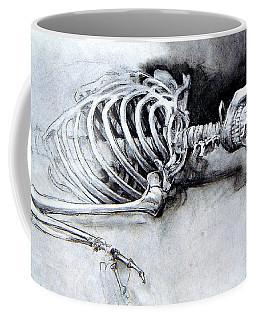 Portrait Of A Skeleton Coffee Mug