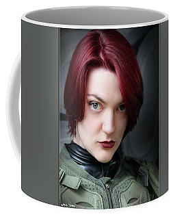 Portrait Of A Starship Trooper Coffee Mug