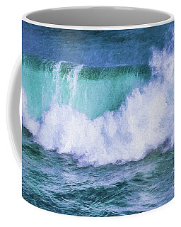 Portrait Of A Wave Coffee Mug