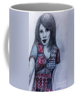 Portrait Of A Williams Sister Coffee Mug