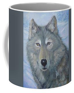 Portrait Of A Wolf Coffee Mug