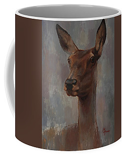 Portrait Of A Young Doe Coffee Mug