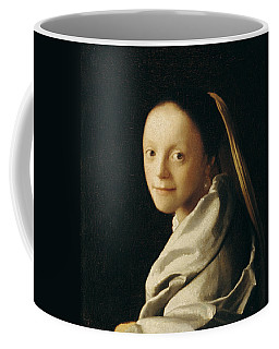 Portrait Of A Young Woman Coffee Mug