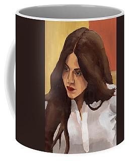 Portrait Of Amelia Coffee Mug