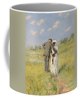 Portrait Of Captain William Holmes And Mary Shafter Mckitterick Coffee Mug