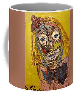Portrait Of Finja Coffee Mug by Darrell Black