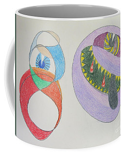 Portrait Of Lady Gaga The Mother Monster Of Us All Coffee Mug