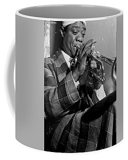 Portrait Of Louis Armstrong Coffee Mug