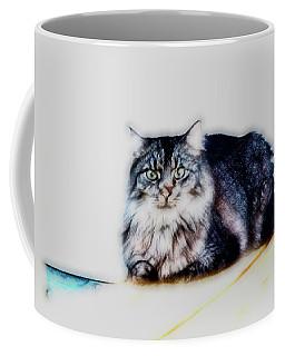 Portrait Of Maine Coon, Mattie Coffee Mug