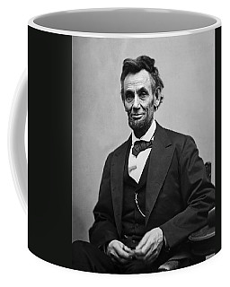 Portrait Of President Abraham Lincoln Coffee Mug