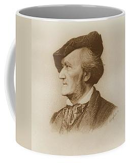 Portrait Of Richard Wagner Coffee Mug