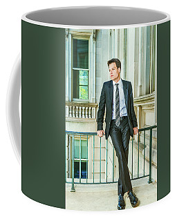 Coffee Mug featuring the photograph Portrait Of School Boy 1504259 by Alexander Image