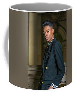 Coffee Mug featuring the photograph Portrait Of School Boy 1504261 by Alexander Image
