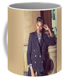 Coffee Mug featuring the photograph Portrait Of School Boy 1504262 by Alexander Image