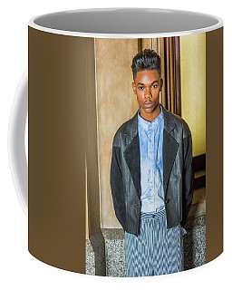 Coffee Mug featuring the photograph Portrait Of School Boy 15042624 by Alexander Image